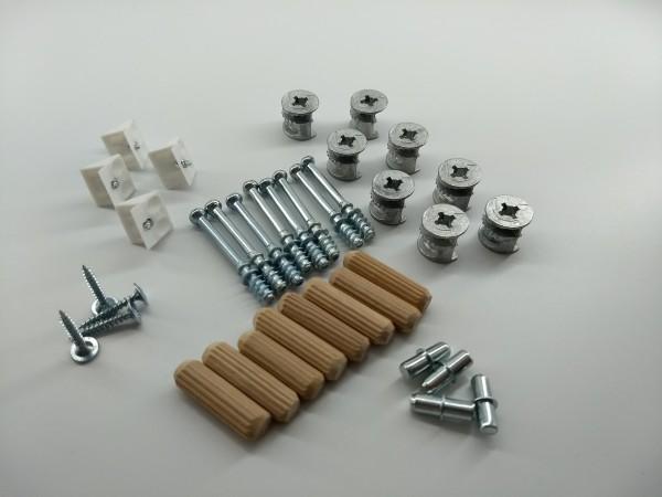 Schrank-Verbinder Möbel-Verbinder Set - Ersatzteilen, BASIC