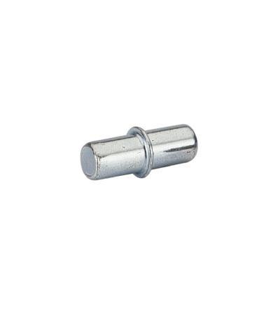 Bodenträger Duplo mit Rand für 5mm Lochreihe Stahl chromatiert pro Stück